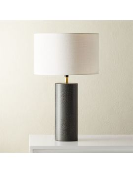 Sahara Grey Table Lamp by Crate&Barrel