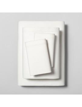 Linen Blend Sheet Set With Hem Stitch   Hearth &Amp; Hand With Magnolia by Hearth & Hand With Magnolia