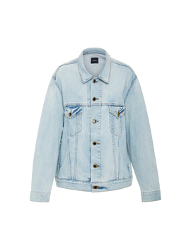 Cate Oversized Denim Jacket by Khaite