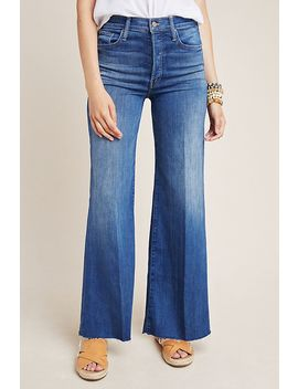 Mother The Tomcat Roller Fray Ultra High Rise Jeans by Mother