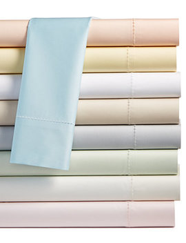 Solid Open Stock 400 Thread Count Sheet Collection, Created For Macy's by General