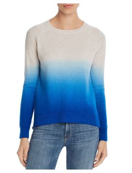 Dip Dye Cashmere Sweater   100% Exclusive by Aqua Cashmere