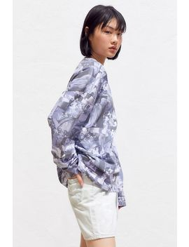 Renaissance Allover Print Crew Neck Sweatshirt by Urban Outfitters