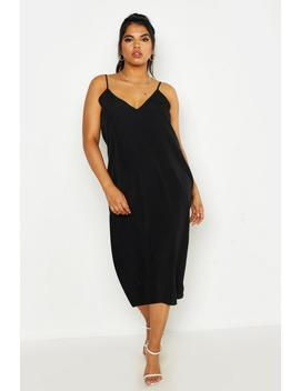Plus Woven Cami Midi Dress by Boohoo