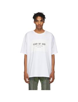 White 'sixth Collection' T Shirt by Fear Of God
