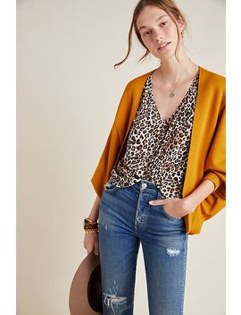 Mina Cropped Cardigan by Anthropologie