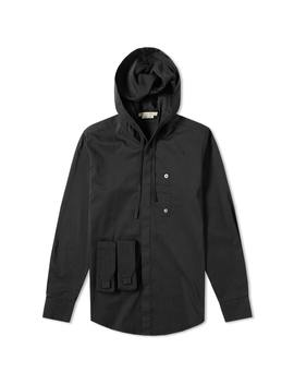 1017 Alyx 9 Sm Hooded Button Up Shirt by Alyx