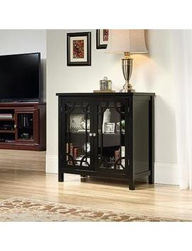 Palladia Collection Black Accent Storage Cabinet by Sauder