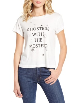 Ghostess Cotton Tee by Wildfox