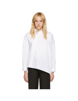 White Noma Shirt by TotÊme