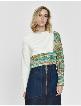 Space Dye Cropped Pullover by 3.1 Phillip Lim