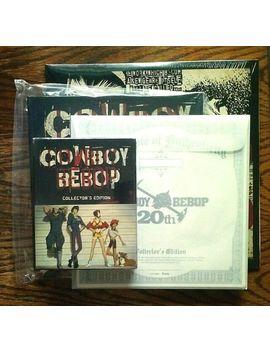 Cowboy Bebop Bounty Hunter's Steel Blu Ray Limited Edition Steelbook Lp Art Book by Ebay Seller
