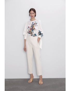 Floral Print Top Topswoman by Zara