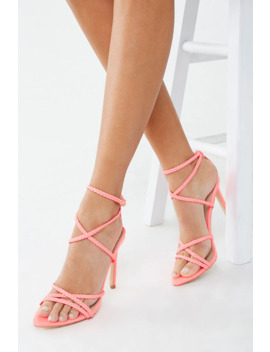 Braided Stiletto Heels by Forever 21