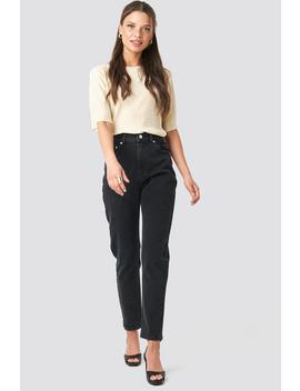 Mom Jeans Schwarz by Na Kd Trend