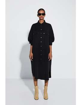 Long Shirt With Pockets Topswoman by Zara