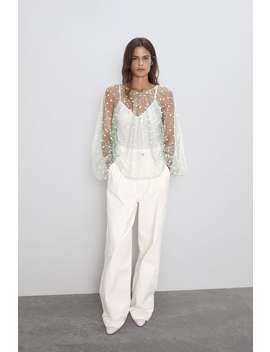 Sparkly Semi Sheer Topnew In Woman by Zara