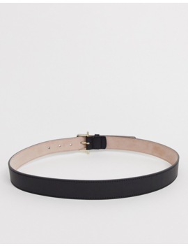 &Amp; Other Stories Leather Belt In Black by & Other Stories