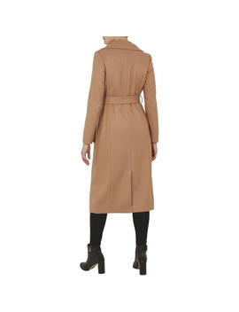 Wide Collar Long Wool Coat by Ted Baker