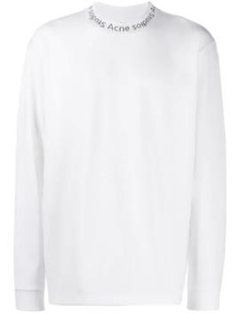 Logo Collar T Shirt by Acne Studios