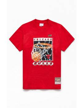Mitchell & Ness Lightning Bulls T Shirt by Pacsun