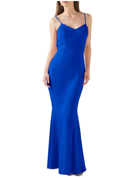 Sweetheart Neck Cowl Back Maxi by Lipsy