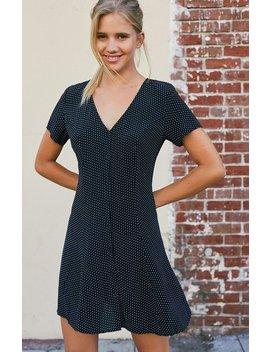 John Galt Button Front Lara Dress by Pacsun