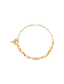Curb Chain Gold Plated Necklace by Fallon