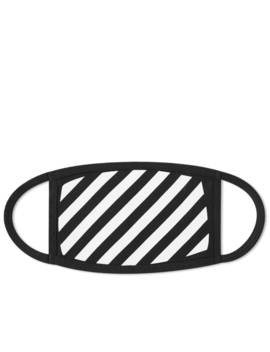 Off White Diagionals Mask by Off White