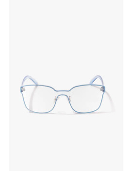 Translucent Rimless Readers by Forever 21