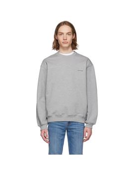 Grey 'balenciaga®' Sweatshirt by Balenciaga