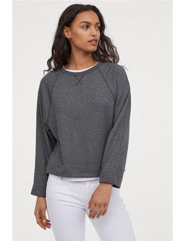 Sweatshirt With Dolman Sleeves by H&M