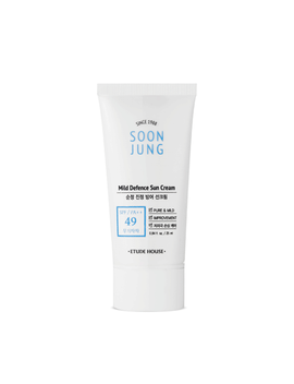 [Etude House] Soon Jung Mild Defence Sun Cream   25ml (Spf49 Pa++) by Ebay Seller