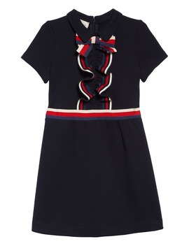Ruffle Short Sleeve Dress by Gucci