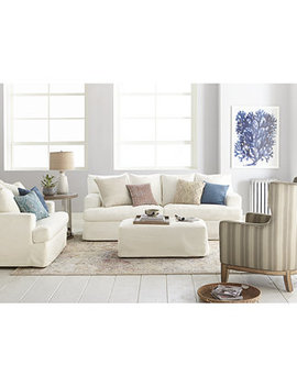 Brenalee Performance Fabric Slipcover Sofa Collection by General