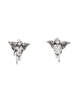 Silver Oslan Earrings by Martyre