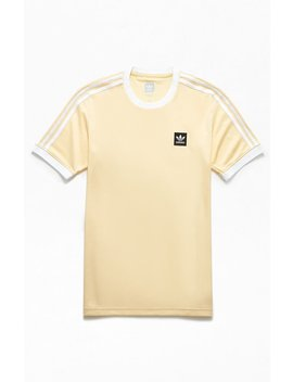Adidas Club Jersey Ringer T Shirt by Pacsun
