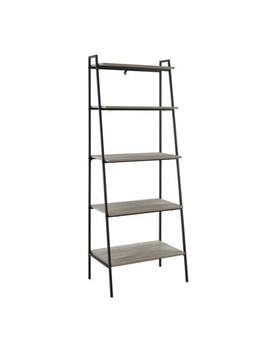 "72"" Metal &Amp; Wood Ladder Shelf   Saracina Home by Saracina Home"