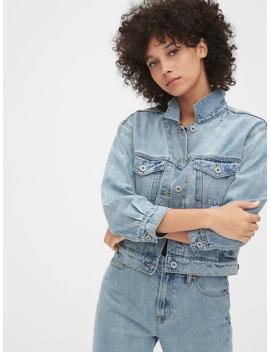 '90s Originals Crop Icon Denim Jacket by Gap