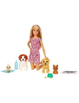 Barbie Doggy Daycare Doll &Amp; Pets by Barbie