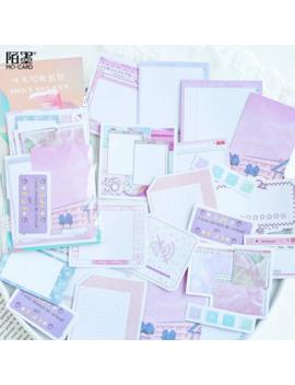 45 Pcs Watercolor Adhesive Sticker Creative Hand Account Diary Diy Photo Album Decoration Paper Sticker Notepad Memo Pad 06503 by Ali Express.Com