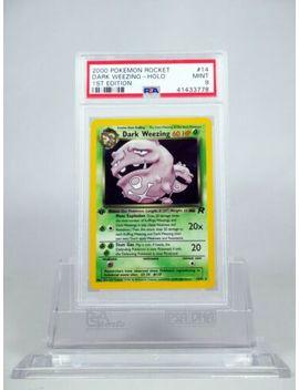 Psa 9 Mint 1st Edition Holo Dark Weezing Pokemon Rocket Set by Ebay Seller