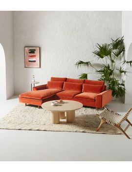 Mirren Reversible Chaise Sectional by Anthropologie