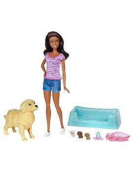 Barbie Newborn Pups And Nikki Doll Playset by Barbie