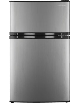 3.0 Cu. Ft. Mini Fridge   Stainless Steel by Insignia™