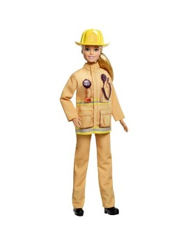 Barbie Careers 60th Anniversary Firefighter Doll by Barbie