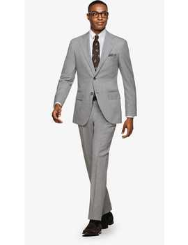 Lazio Light Grey Suit by Suitsupply