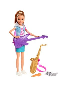 Barbie Team Stacie Doll Music Playset With Instruments by Barbie