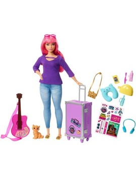 Barbie Daisy Travel Doll &Amp; Kitten Playset by Barbie