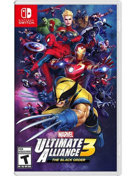 Nintendo Switch by Marvel Ultimate Alliance 3: The Black Order